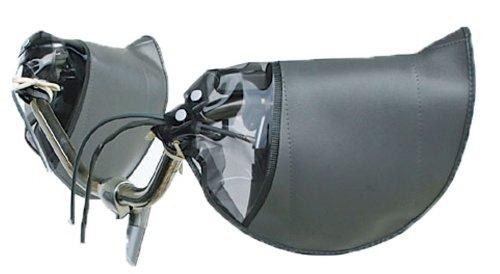 マルト(MARUTO) 防寒ハンドルカバー 変速機対応 HC-H1700 ブラック