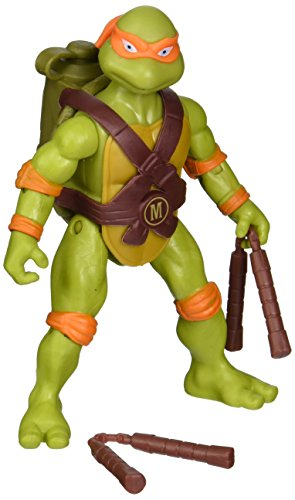 Teenage Mutant Ninja Turtles Classic Spittin' Michelangelo Action Figure -