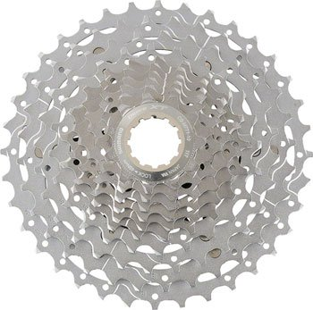 (SHIMANO XT CS-M771 Bicycle Cassette (10-Speed, 11/32T, Silver))