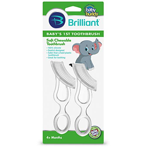 Baby's 1st Toothbrush 2ct Silicone Toothbrush Asst