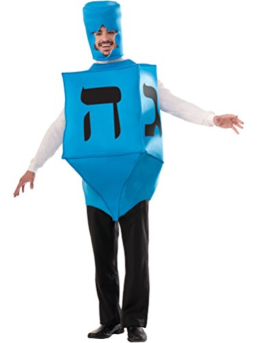 Forum Novelties Men's Dreidel Hanukkah Costume, Blue, One Size]()