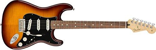 Maple Top Tobacco Sunburst - Fender Player Stratocaster Electric Guitar - Pau Ferro Fingerboard - Tobacco Sunburst