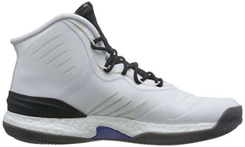 adidas D Rose 8, Scarpe da Basket Uomo Multicolore (Ftwr White/Scarlet/Core Black)