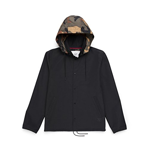 Herschel S Camo Hooded Coach woodland Black RUnqwZxUOY