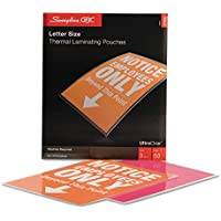 Swingline GBC 3745690 Laminating Pouches 3 mil 9 x 11 1/2 50/Box