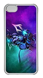 iPhone 5C Case, iPhone 5C Cases - Protective Hard Back Case for iPhone 5C Dota 2 Riki Umbrage Dagger Set Shockproof Hard Back Case Bumper for iPhone 5C customize Father O case