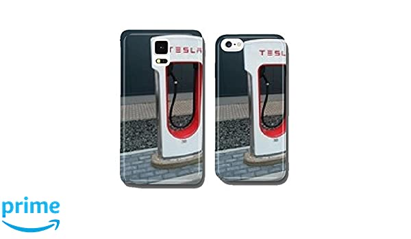 buy popular 16d87 8404c Amazon.com: Tesla Supercharger Single cell phone cover case iPhone5 ...