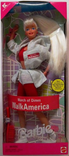 Barbie March of Dimes Walk America 1997 by Mattel