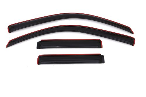 Auto Ventshade 194733 In-Channel Ventvisor, 4-Piece Set for 2002-2009 Chevrolet (Blazer Vent)