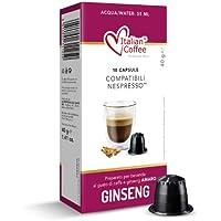 60 Capsule caffè al ginseng amaro Italian Coffee compatibili macchine Nespresso