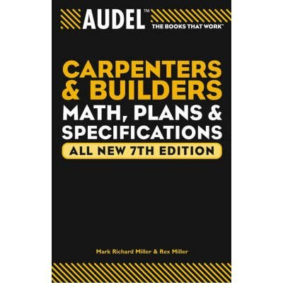 Mind Builders Math (Audel Carpenters and Builders Math, Plans, and Specifications: All New (Audel Carpenters & Builders Math, Plans & Specifications) (Paperback) - Common)