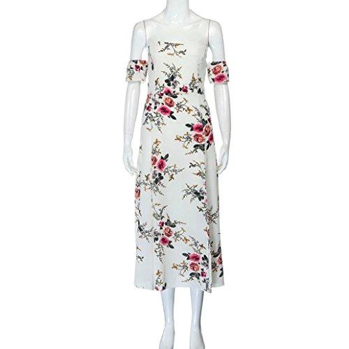 OverDose Damen Sommerkleider Frauenreizvolles weg vom Schulter ...
