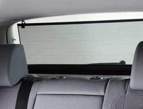 myshopx auto parasole Disco protezione lunotto sole avvolgibile 100/cm Rollo