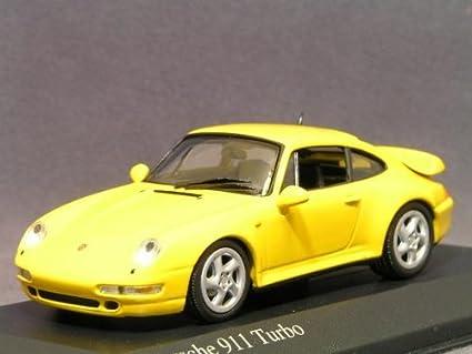 Minichamps 1/43 Porsche 911 (993) Turbo/Yellow 〓 Porsche