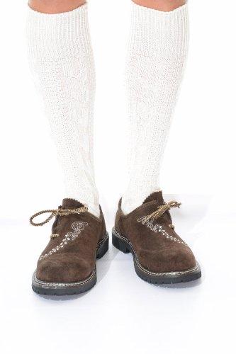 Long German Lederhosen Socks in cream, 13