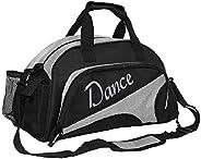 kilofly Girl's Ballet Dance Sports Gym Duffel Bag Travel Carry On + Handy P