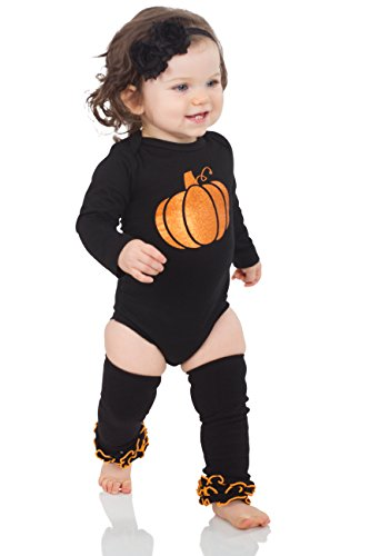 juDanzy Halloween & Christmas Baby Gift Box outfit set (6-9 Months, Enchanted (Halloween 1-8 Box Set)