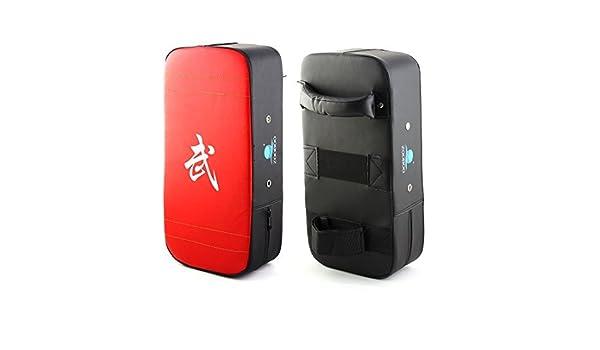 Amazon.com : eDealMax Zooboo autorizado Carácter Karate boxeo Chino impresos de perforación objetivo de enfoque Pad tailandés tiro Escudo : Sports & ...