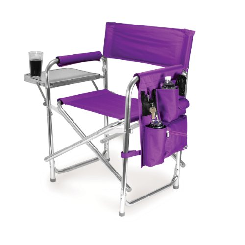 picnic-time-portable-folding-sports-chair-purple