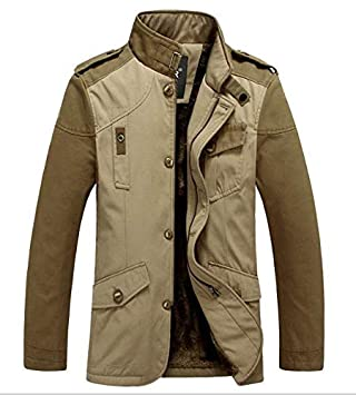 Oyfel Abrigo Borrego Hombre Oveja Chaqueta Parka Resolve Jacket Casaca China Chica Invierno Nieve Polar Otono Rebajas L: Amazon.es: Hogar