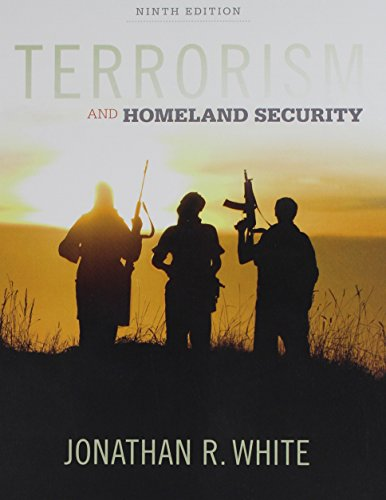 Bundle: Terrorism and Homeland Security, 9th + MindTap Criminal Justice, 1 term (6 months) Printed Access Card