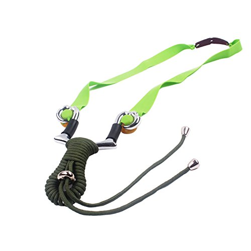 Powerful Steel Slingshot Catapult Outdoor Marble Hunting Games Sling Shot (Weight Lifting Stuffed Animal)