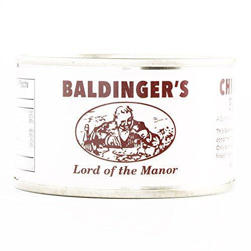 Baldinger's Chicken Liver Paté De Foie 4.5 oz each (1 Item Per Order, not per -