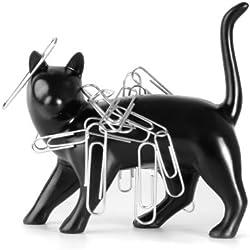 Unique plastic cat shaped desk tidy magnet