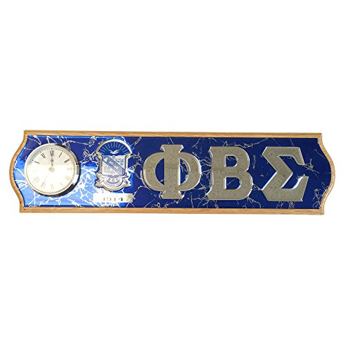 Phi Beta Sigma Fraternity Giant Decorative Wood Crest and Letters Wall (Globe Shaped Magnet)