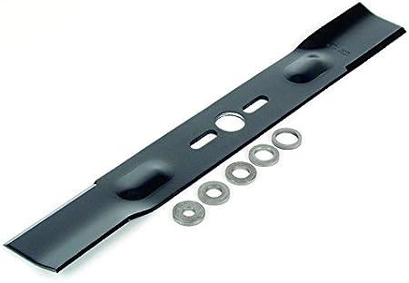 Ratioparts Cuchilla cortacésped universal 45 cm negro