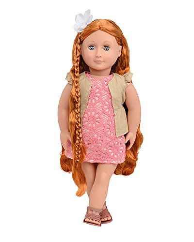 Our Generation Patience-Hair Grow Doll 18 Doll Kaplan Early Learning CompanY BD31116Z