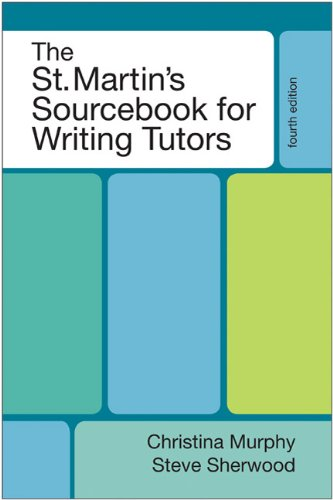 St.Martin's Sourcebook F/Writing Tutors