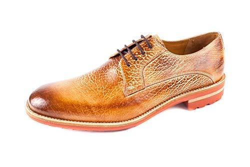 amp; MH15 Marron 409 Ville de Homme Chaussures à Melvin Lacets EU 41 pour Marron Hamilton dqFHdp