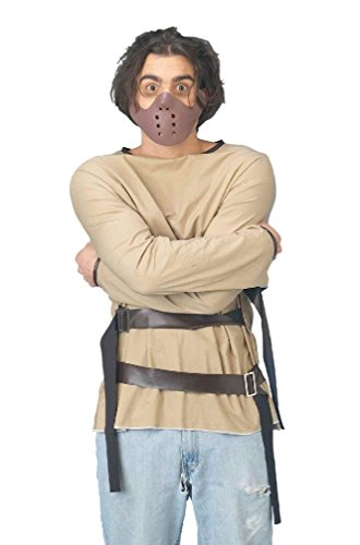 8eighteen Psycho Restrained Killer Convict Adult Costume (Convict Lady Plus Size Costume)