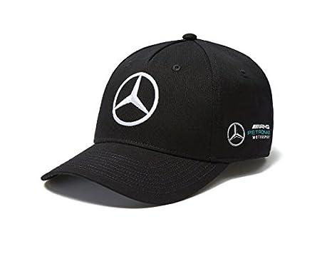 Mercedes AMG F1 Team Puma Baseball Gorra Negro Oficial 2018: Amazon.es: Deportes y aire libre