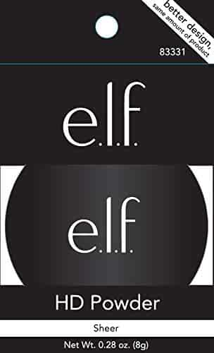 e.l.f. High Definition Loose Face Powder for a Flawless Soft Focus Finish to Your Makeup, Lightweight, 0.28 Ounces