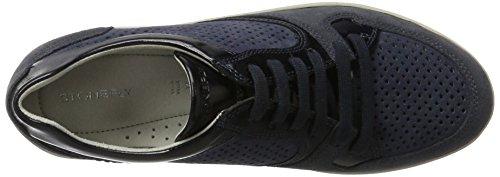 Denim Damen Stonefly 124 13 Romy Sneaker Blau a8wqRZO