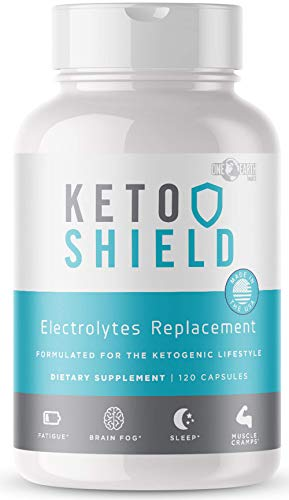 Keto Friendly Electrolyte Supplement for Keto Diet | Keto Energy Boost | Stop Leg Cramps| Electrolyte Capsules Maxed Out with Magnesium, Sodium, Calcium and Potassium. Great Potassium Supplement. ()