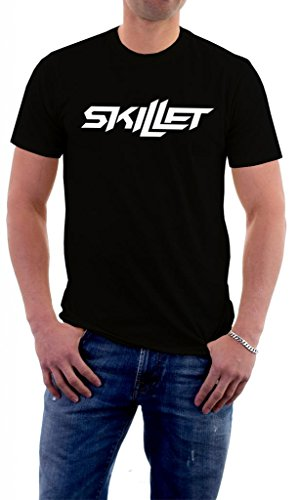 Skillet Band Logo Comatose Awake Alternative T-Shirt Large (Alternative Band T-shirts)
