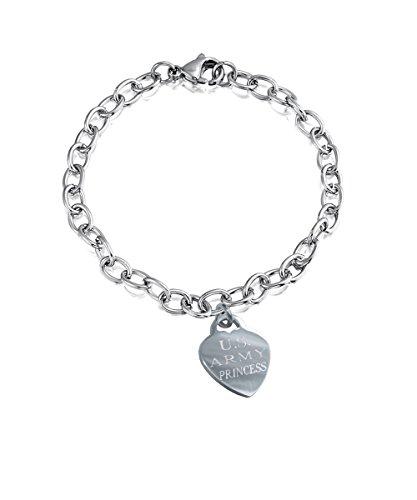(Stainless Steel Army Girlfriend Bracelet TAG)