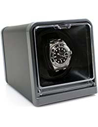 [SALE] Versa Solo Single Automatic Watch Winder - Multiple Turns Per Day and Direction Settings, Plenty of Space for Large Watches