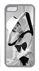 Audrey Hepburn Iphone 5C case, transparent Iphone 5C case