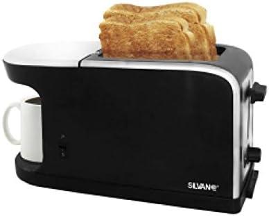 Silvano - Cafetera y tostador 2 en 1 TCM-26: Amazon.es: Hogar
