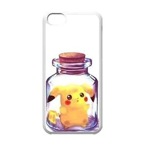 iPhone 5C Phone Cases White Pikachu EWD909626