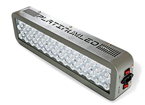 advanced platinum series led grow lights 150w dual. Black Bedroom Furniture Sets. Home Design Ideas