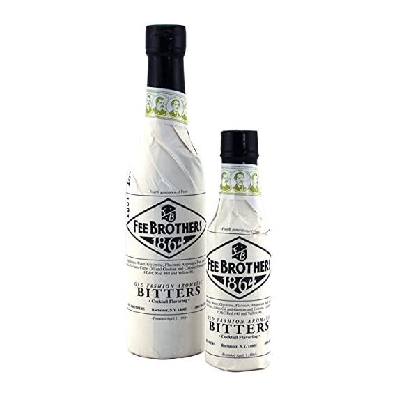 Fee Brothers Old Fashioned Aromatic Bitters - 12.8 Ounces Bottle 2 The classic bitter flavoring for numerous craft cocktails. 12.8 ounce glass bottle. Used in popular drinks such as the Manhattan and Planter's Punch.
