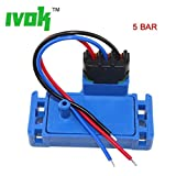 IVOK Set Of 1PCS Black 3Pin 5 BAR 5BAR For GM MAP