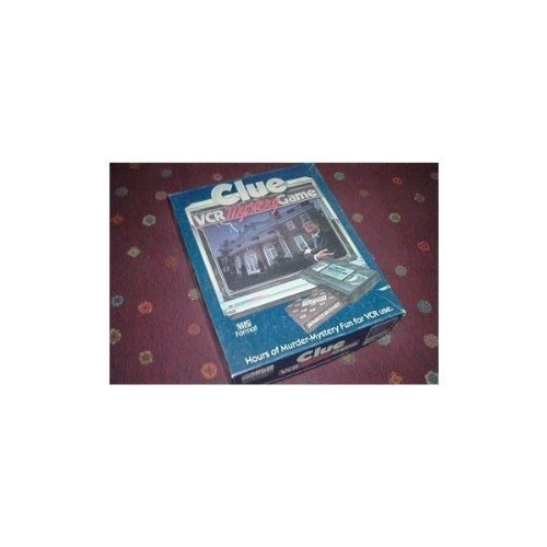 Clue. VCR Mystery Game by Parker Brothers (Vhs Board Game)