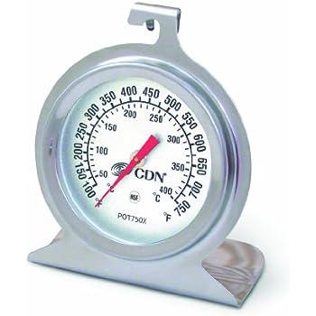 CDN POT750X High Heat Oven Thermometer
