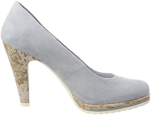 Para Zapatos De Mujer 22412 sky Azul Marco Tozzi Tacón BEqXwvW